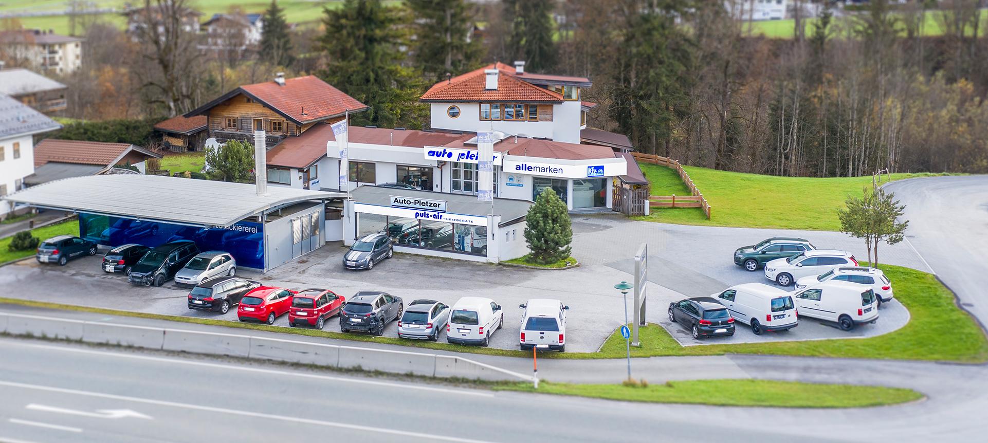Freie Kfz Werkstatt & Autohaus Pletzer in Going am Wilden Kaiser - alle Marken